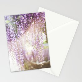 Caught the Light ... in Wisteria  //  The Botanical Series Stationery Cards