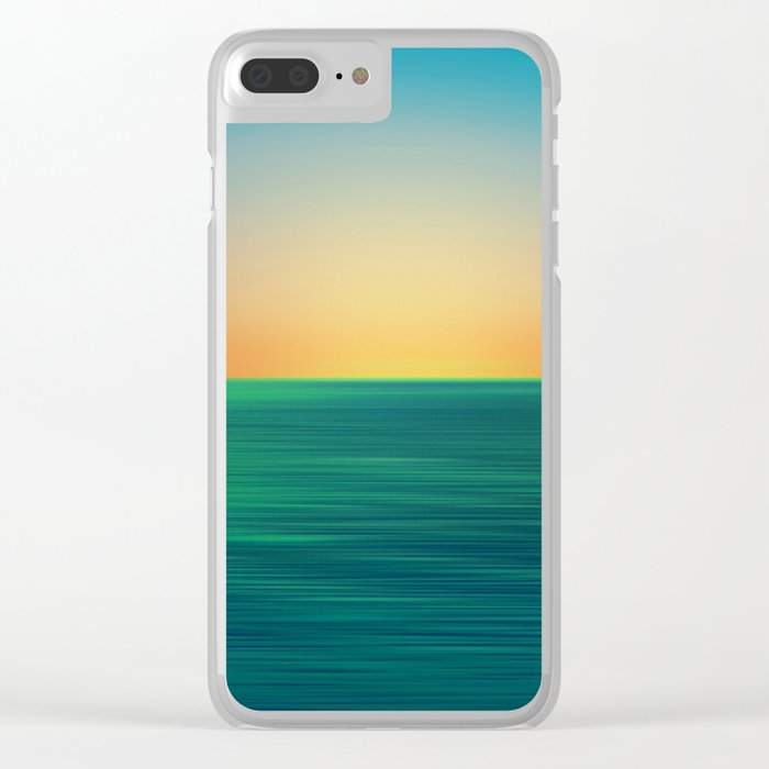 Sea of Dreams Clear iPhone Case