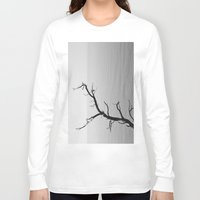 wood Long Sleeve T-shirts featuring Wood by Laura James Cook