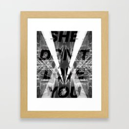 City Love Framed Art Print