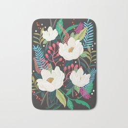 The Garden of Alice, flower, floral, blossom art print Bath Mat