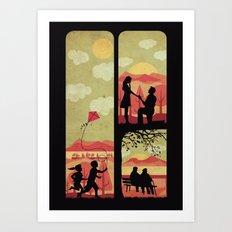 Together always Art Print