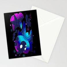 Wacky Universe Stationery Cards