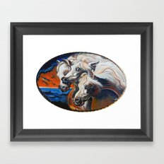 The Pharoah's Horses Framed Art Print