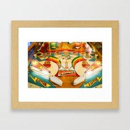 Pinball Framed Art Print