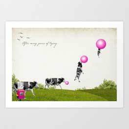 after many years of trying... Art Print