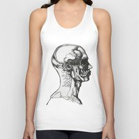 anatomy Tank Tops featuring Anatomy  by Cjillustrations