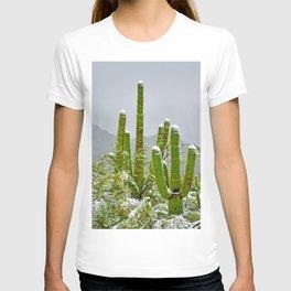 Snowy Sonoran Desert Delights T-shirt