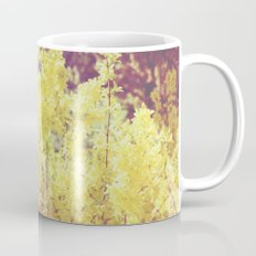 yellow flower - Forsythia Mug