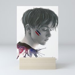SKAM / DRUCK - Matteo Florenzi Pride Colors Mini Art Print