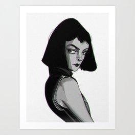 MIA WALLACE, PULP FICTION Art Print