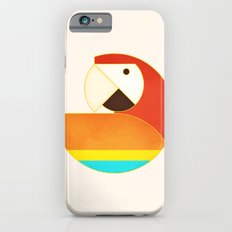 Round Bird - Macaw Slim Case iPhone 6s