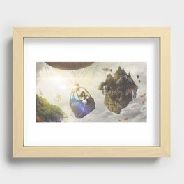IN THE SKY Recessed Framed Print