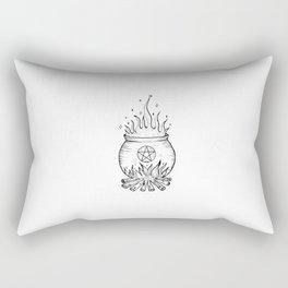 Witch's Magical Cauldron Rectangular Pillow