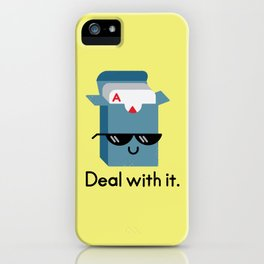 Talk to the Hand iPhone Case