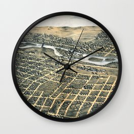 Aurora - Illinois - 1867 Wall Clock