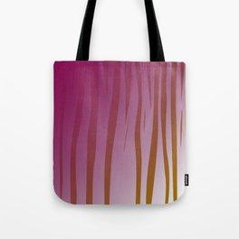 wild design exotic lines Pink Tote Bag