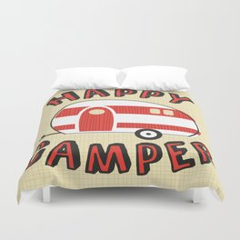 Happy Camper Duvet Cover