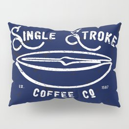 Single Stroke Coffee Co Pillow Sham