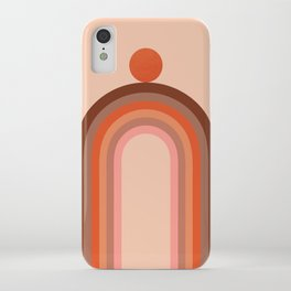 Abstraction_LINE_ART_Minimalism_001 iPhone Case