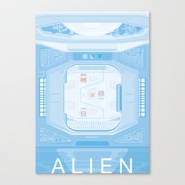 Airlock - Alien (1979) Canvas Print