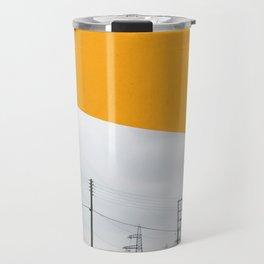 Orange Pylons Travel Mug