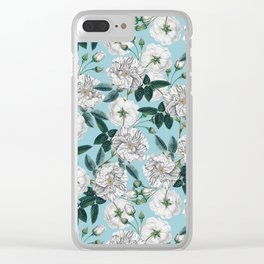 TROPICAL PATTERN-10 Clear iPhone Case
