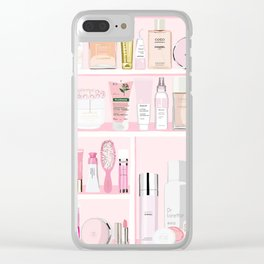 The Pink Medicine Cabinet Clear iPhone Case