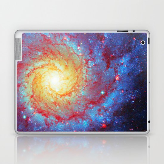 Spiral Galaxy Laptop & iPad Skin