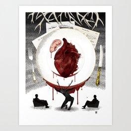 Procuitto Roses Art Print