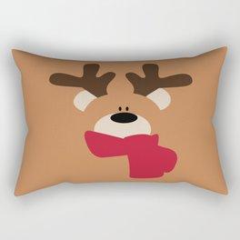 Beary Merry Christmas Rectangular Pillow