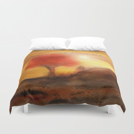 Calling The Sun XIII Duvet Cover
