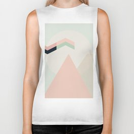 I Dream In Pink Biker Tank