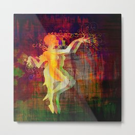 Alice Dancing Darkly (edit4) Metal Print