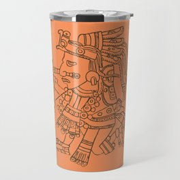 Aztec Warrior Travel Mug