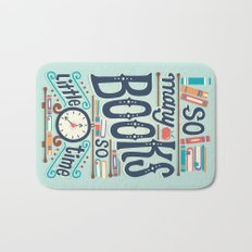 So many books so little time Bath Mat