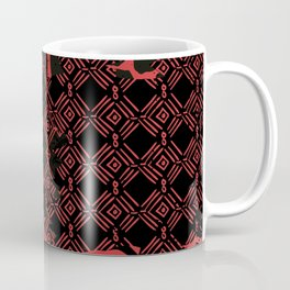 African batik pattern for country house decor Coffee Mug