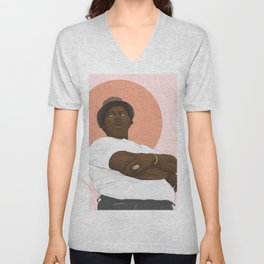 Big Mama Thornton Unisex V-Neck