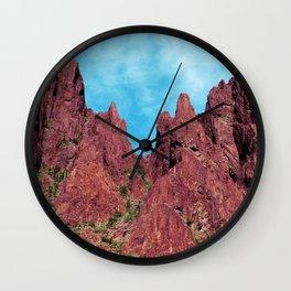 Palm Canyon Arizona Wall Clock