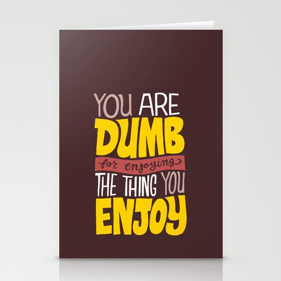 Internet Comments Stationery Cards