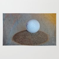 golf Area & Throw Rugs featuring Golf by LoRo  Art & Pictures