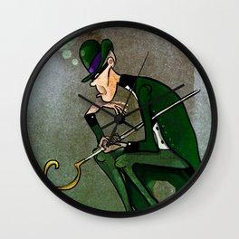 The Riddler Wall Clock