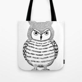 Tough Love Owl Tote Bag