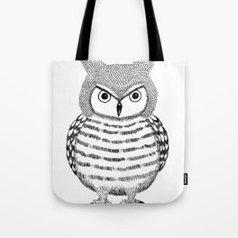Tough Love Owl Tote Bag