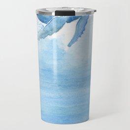 Whale - Take a deep breath Travel Mug
