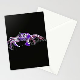 Space Crab Stationery Cards