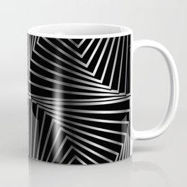 Rotating silver squares Coffee Mug