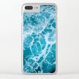 Living Ocean  v5- Aqua Clear iPhone Case