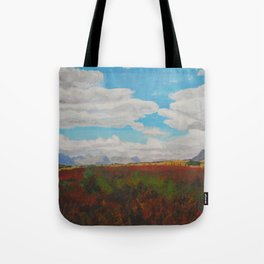 Standing in the Valley Tote Bag