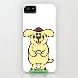 Pudding Pup iPhone Case